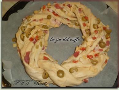 Angelica salata con salame, pancetta, formaggio, olive 1
