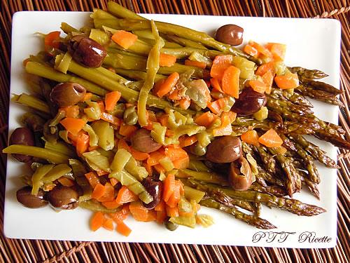 Asparagi in padella con carote 3