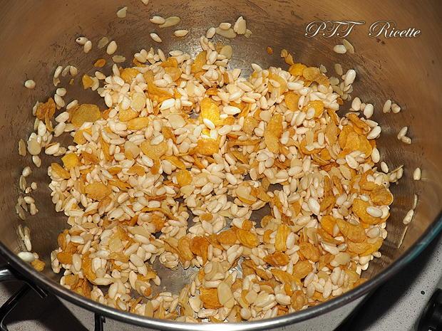 Barrette di cereali fatte in casa con cioccolato bianco 3