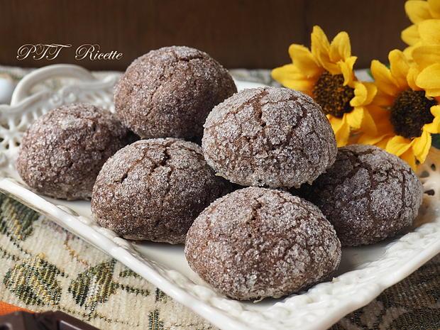 Biscotti al cacao e zenzero 6