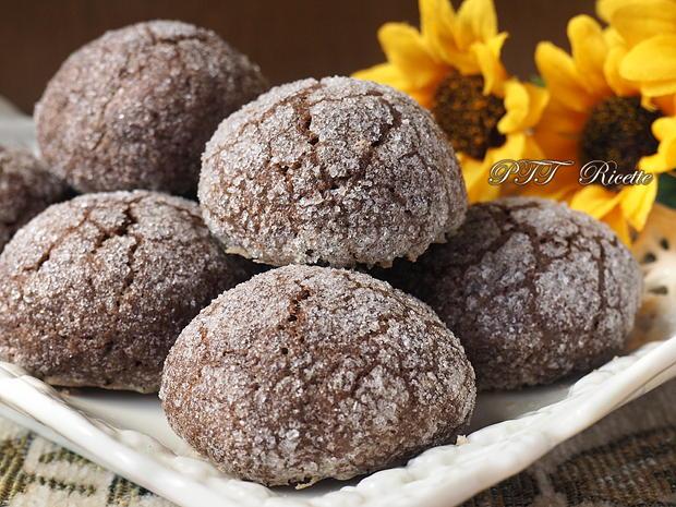 Biscotti al cacao e zenzero 8
