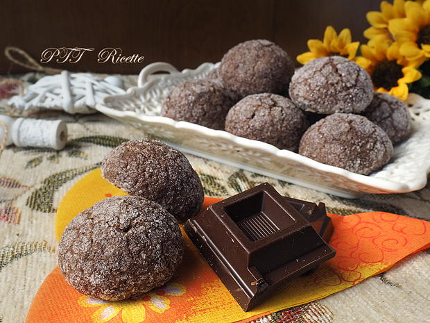 Biscotti al cacao e zenzero 9