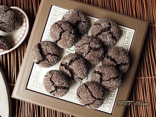 Biscotti al cacao senza glutine e senza lattosio 9