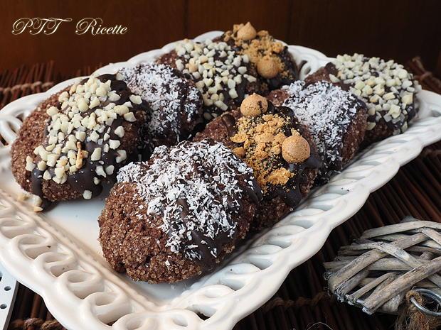 Biscotti al cioccolato senza glutine e senza burro 2