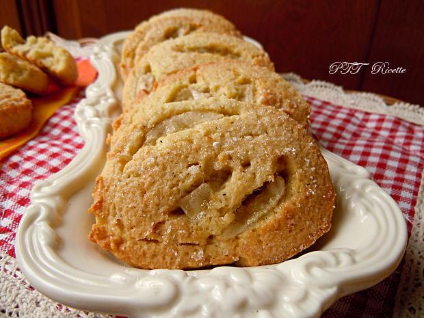 Biscotti alle banane con pasta frolla all'olio 8