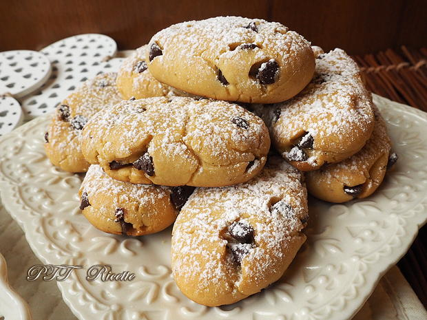 Biscotti miele e cioccolato - PTT Ricette
