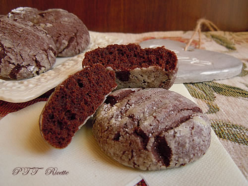 Biscotti morbidi al cacao 2