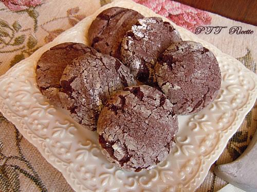 Biscotti morbidi al cacao 3