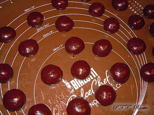 Biscotti morbidi al cacao 6
