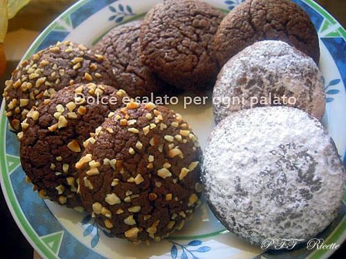Biscotti morbidosi con cioccolato fondente