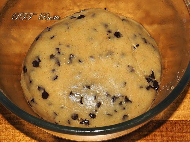 Biscotti per la colazione con gocce di cioccolato 1