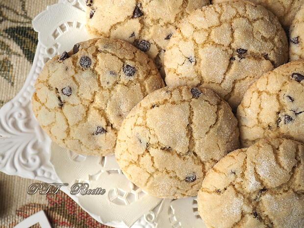 Biscotti per la colazione con gocce di cioccolato 10