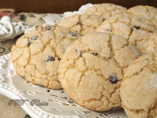 Biscotti per la colazione con gocce di cioccolato 11