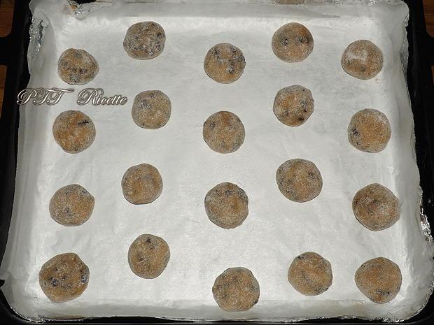 Biscotti per la colazione con gocce di cioccolato 4