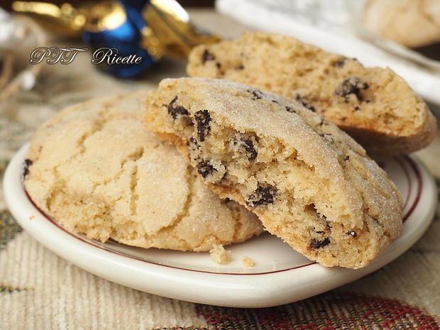 Biscotti per la colazione con gocce di cioccolato 7