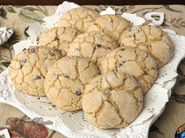 Biscotti per la colazione con gocce di cioccolato 8