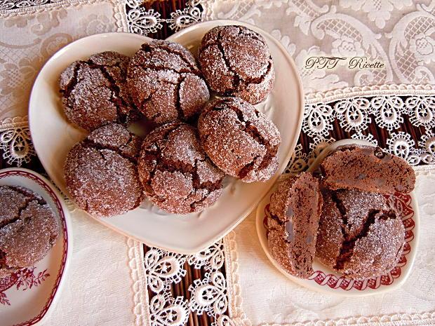 Biscotti senza burro al cacao 5