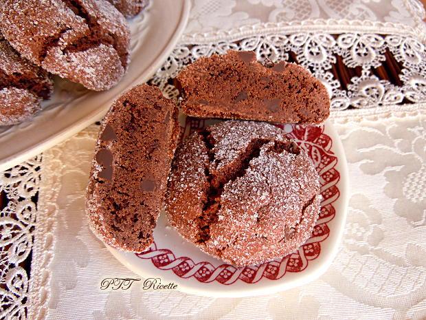 Biscotti senza burro al cacao 6