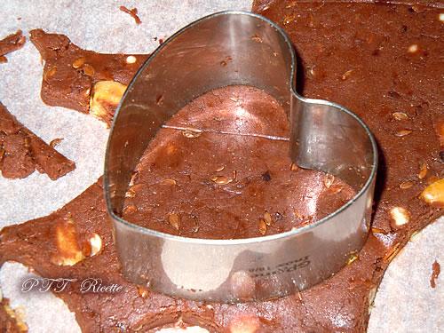 Biscotti senza glutine al cacao 10