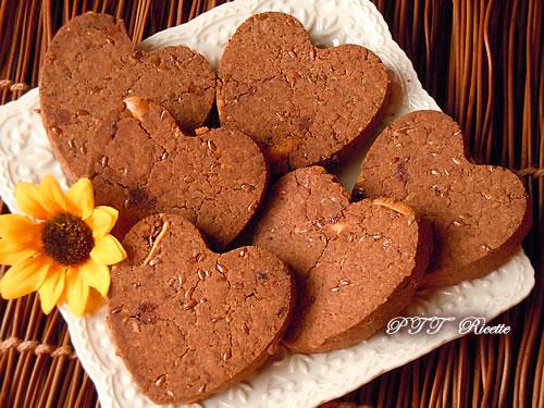 Biscotti senza glutine al cacao 7