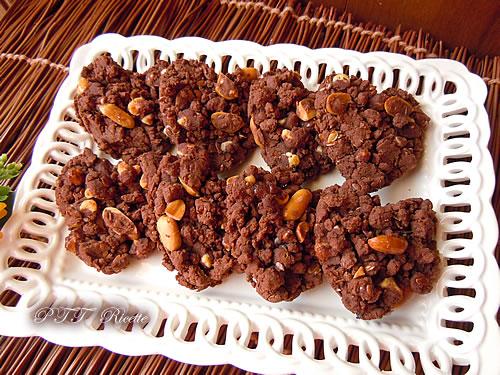 Biscotti senza glutine al cacao 9