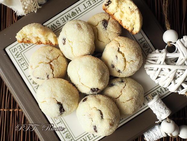 Biscotti senza glutine con uvetta e canditi 5