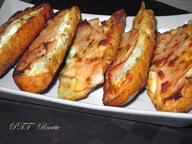 Bruschette al forno con certosa e tacchino 5