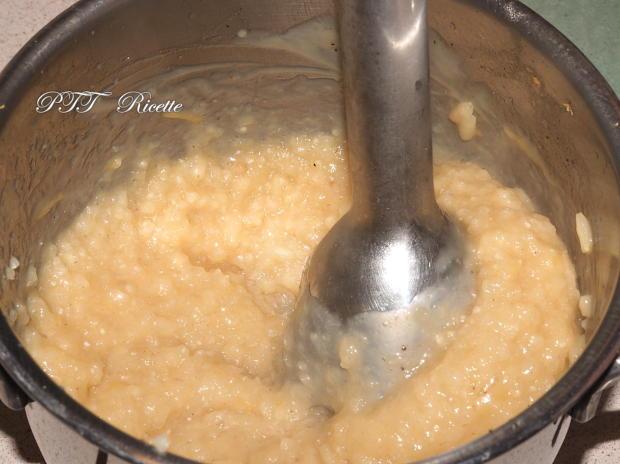 Budino di riso con mango, pompelmo, cioccolato 2