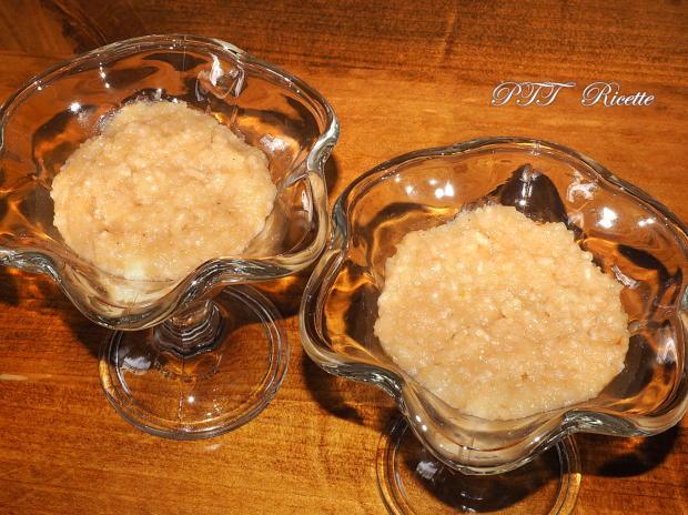 Budino di riso con mango, pompelmo, cioccolato 3