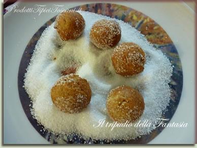 Castagnole con farina integrale 10