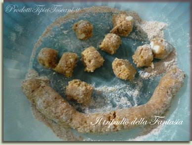 Castagnole con farina integrale 6