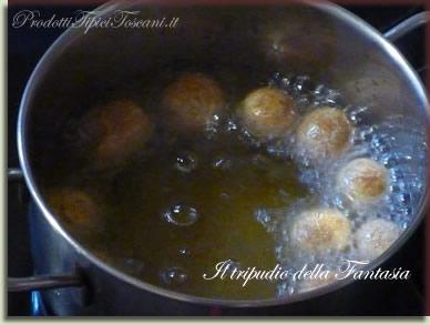 Castagnole con farina integrale 8