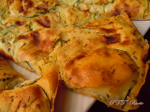 Cecina con zucchine 2