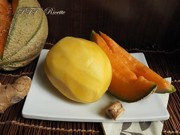 Centrifugato di mango, melone, zenzero 1