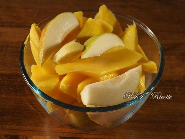 Centrifugato di Mango, Pera e Zenzero 1
