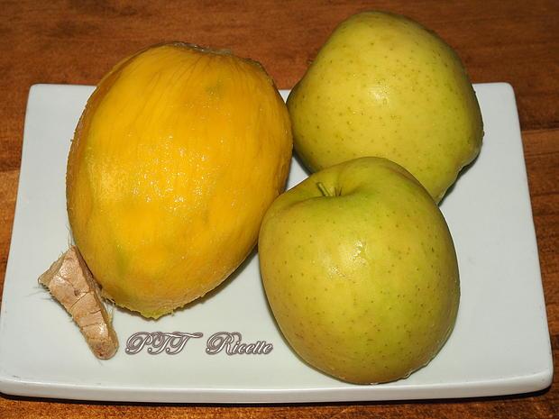 Centrifugato di mela, mango e zenzero 1
