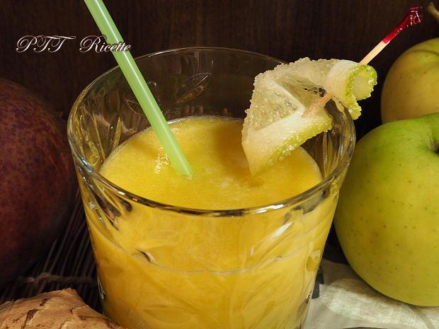 Centrifugato di mela, mango e zenzero 3