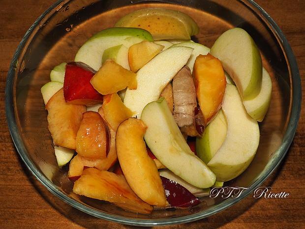 Centrifugato di pesche, mele e zenzero 1