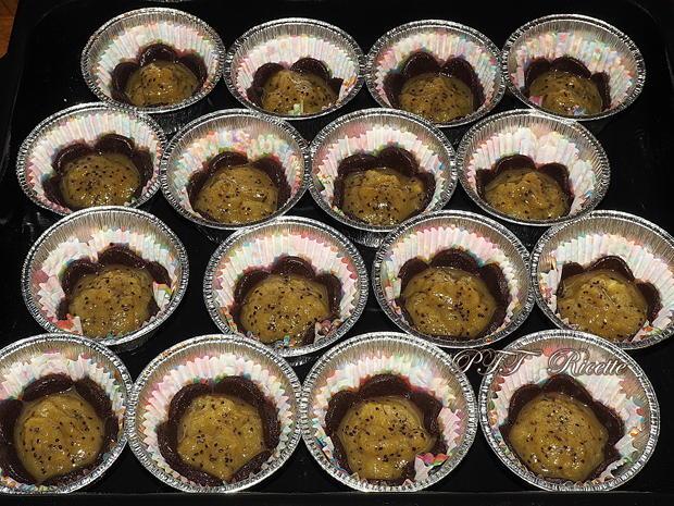 Cestini al cacao ripieni ai kiwi 11