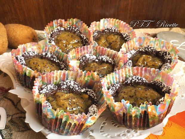 Cestini al cacao ripieni ai kiwi 14