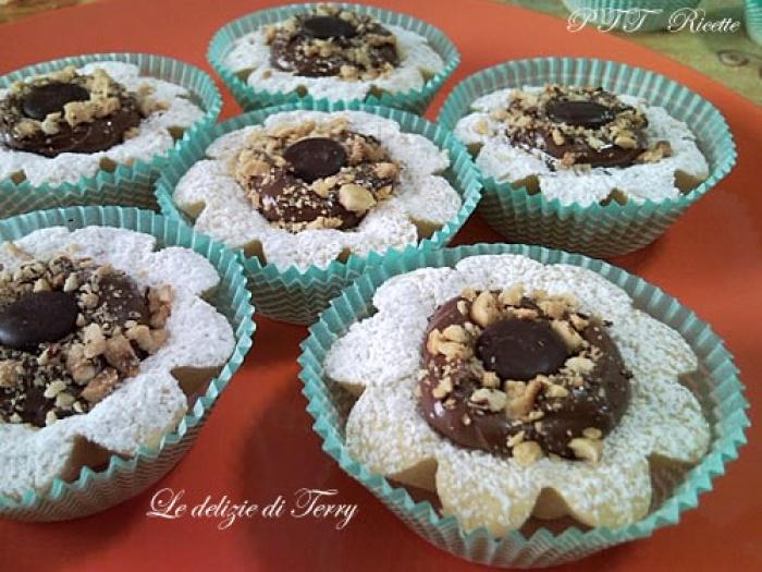Cestini Di Pasta Frolla Con Nutella Ricetta Cestini Di Pasta Frolla Con Nutella Ptt Ricette