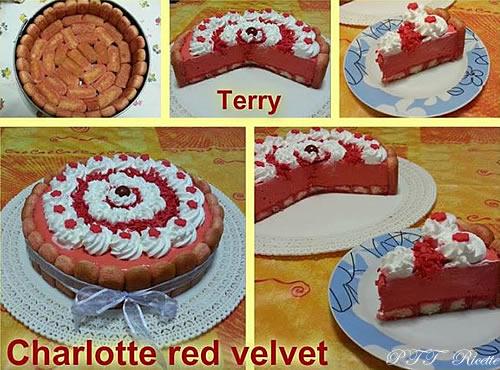 Charlotte Red velvet