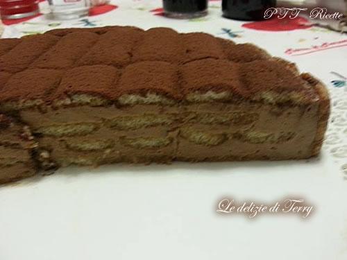 Cheesecake al caffè con Pavesini 2