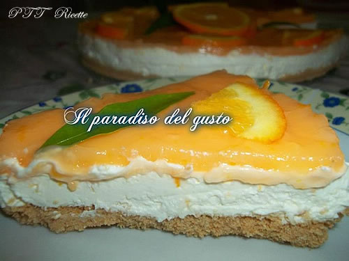 Cheesecake all'arancia 4