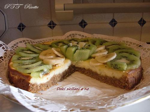 Cheesecake alla frutta 2