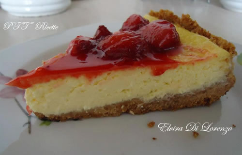 Cheesecake alle fragole 4