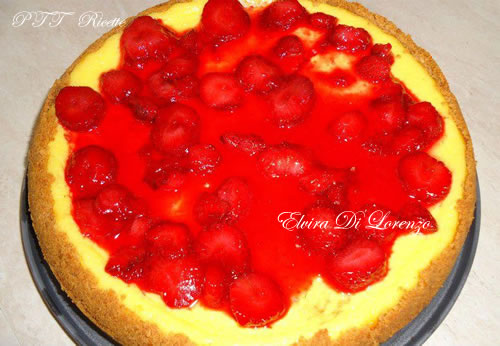 Cheesecake alle fragole 6