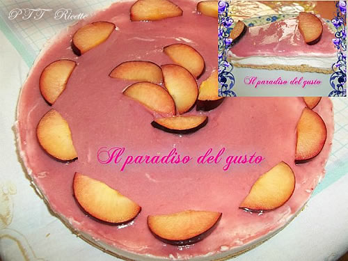 Cheesecake alle prugne