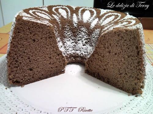 Chiffon cake al cioccolato 3