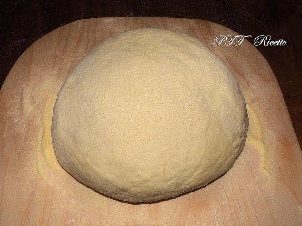 Ciabattine di pane di grano duro senza impasto 7